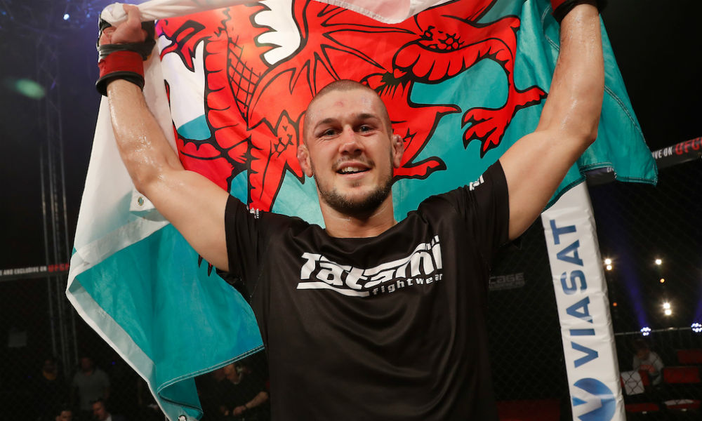 Dangerous challenger: Wales' Josh Reed (Dolly Clew/Cage Warriors)