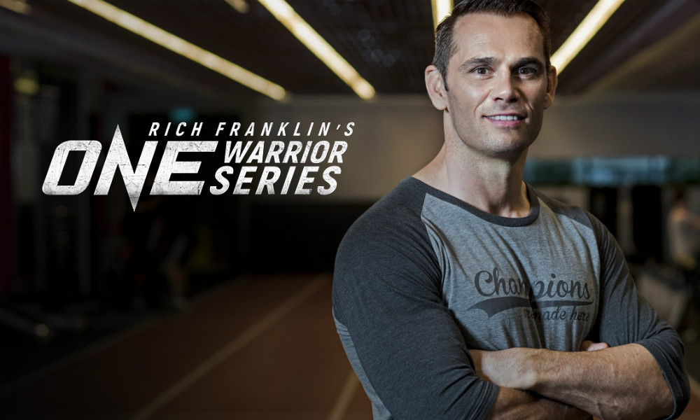 Scouting for talent: Rich Franklin takes to the road in a new series for ONE Championship (Pic: ONE Championship)