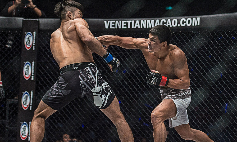 Nasty striking: Russian finisher Timofey Nastyyukhin has six KOs on his record (pic: ONE Championship)