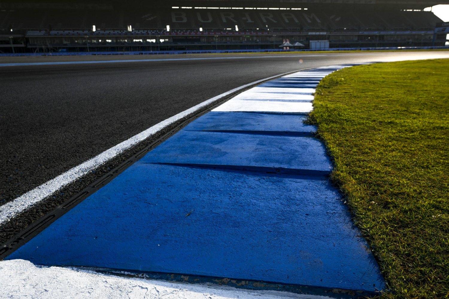 The calm before the storm: The Buriram circuit in Thailand (MotoGP)