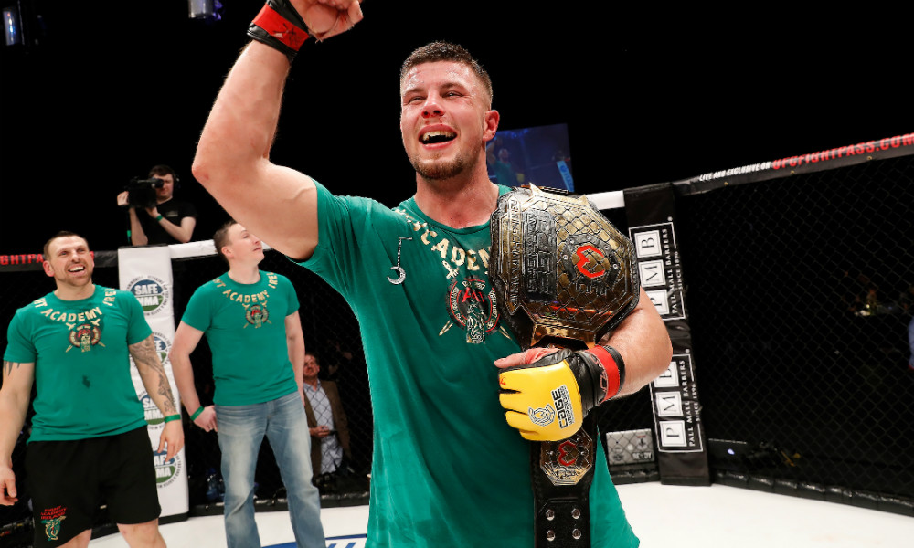 Karl Moore is looking to become a two-weight champion (Dolly Clew/Cage Warriors)