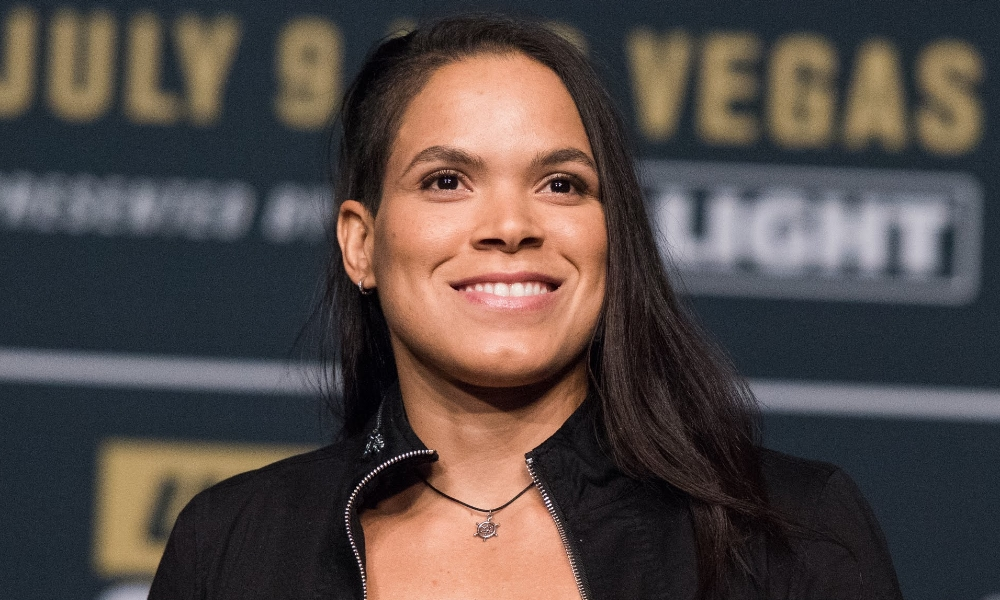 Stepping up: UFC bantamweight champ Amanda Nunes will challenge Cris Cyborg for her featherweight title (Per Haljestam)