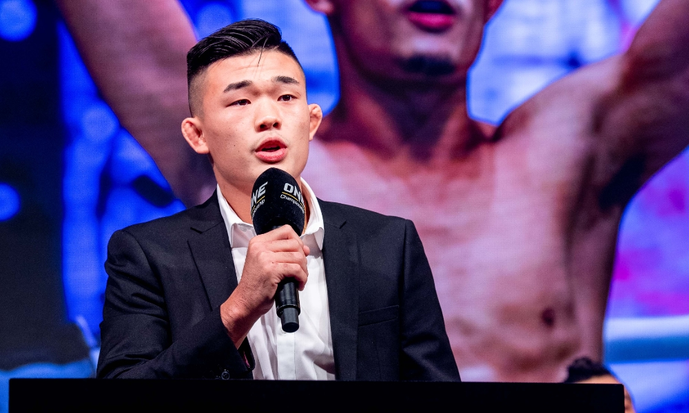 Young challenger: Christian Lee (Pic: ONE Championship)